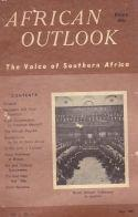 African Outlook The Voice of Southern Africa